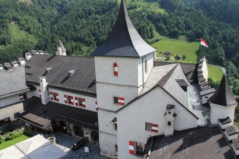Burg Hohenwerfen - Landpartie