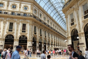 Herzstück der Shoppingszene in Mailand ist die Galerie.