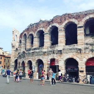 Die antike Arena von Verona