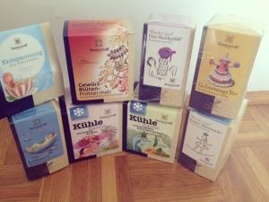 Tees und Gewürze von Sonnentor